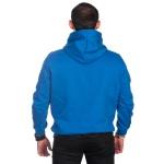 Moletom Masculino Azul Liso Canguru