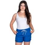 Short Bermuda Praia Summer Kit Casal Selten Azul