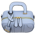 Bolsa Feminina Quadrada Sydney Azul Lilás