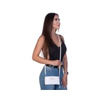 Bolsa Feminina Com Carteira Transversal Selten Branca