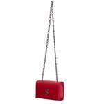 Bolsa Vermelha Clutch Pequena de lado Alça de corrente Verona