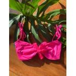 Biquini Caribe Neon pink Top- AVULSA