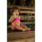 Biquíni Infantil Sereia Chiclete Hotpant