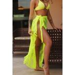 Saia luxo Cancún (Amarelo Neon)