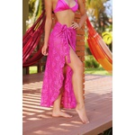 Saia luxo Ilhabela (pink marsala)