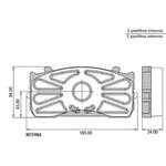 Pastilha Freio Mercedes Benz 915, 915C 2004/ Em Diante