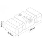 Tanque Combustível Plástico Mercedes Benz 709 / 912 - 150 Litros
