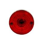Lente Lanterna Lateral Carreta Flexivel Vermelha