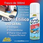 Álcool 70° Líquido Purifi Care AutoShine Aerosol 300ml