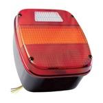 Lanterna Traseira Ford Cargo/F4000 (Quadrada) S/Vigia