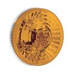 Lanterna Traseira Individual Carreta/Onibus Amarela 125mm