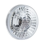 Lanterna Traseira Individual Carreta/Onibus Cristal 125mm