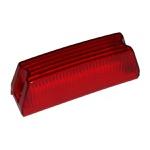 Lente Lanterna Parachoque Dianteiro Vermelha