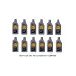 Caixa com 12 Litros Óleo Lubrificante para Compressores de Ar VR LUB COMP150
