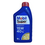 Óleo Motor 15W40 Semi Sintético API SL Mobil Super 2000 X1