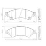 Pastilha Freio Ford Ranger Nova 2.5 16v / 3.2 20v 2013/ Troller T4