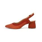 Sapato Slingback Scarlet Marsala