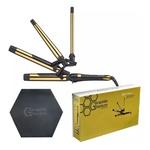 Kit Modelador BaByliss PRO Graphite Titanium Ion GXT Synergy 4 em 1 - Bivolt