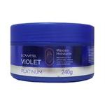 Lowell Violet Platinum Máscara Matizadora Hidratante - 240g