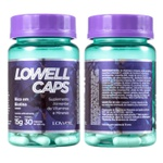 Lowell Caps Suplemento Alimentar de Crescimento Capilar 30 Caps - 500mg