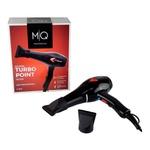 Secador MQ Hair Turbo Point Íons Preto 2000 Watts - 220 Volts