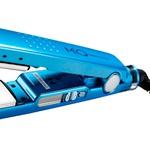 Prancha MQ Hair Professional Titanium Iônic Blue Sky 32mm - Bivolt