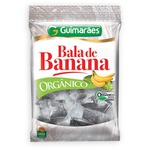 Bala de Banana Orgânica 120g