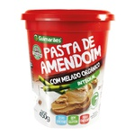 Pasta de Amendoim Com Melado Organico 450g