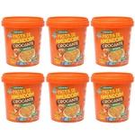 Kit Combo 06 unidades Pasta de Amendoim Crocante 1.005kg