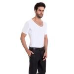 Camiseta Skin Shirt Clássica Térmica Branca