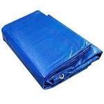 Lona Plastica Carreteiro Itap Azul Reforçada 6x5 Com Ilhoes