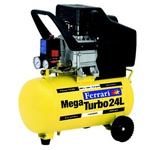 Compressor de Ar Mega Air C 24 Litros 1500W Amarelo - Ferrari