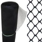 Tela Plastica Viveiro Furo 2cm 1,0m X 50m