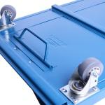Carro Esteira de Metal Para Mecânico Com Encosto Fercar Ce01
