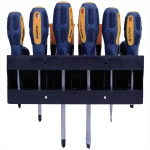 Jogo Chave Fenda Brasfort Philips 7030 Precisão Magnetizada 18 Peças