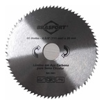 Serra Circular Aço Carbono 4.3/8 x 80 x 20 mm 8661 Brasfort