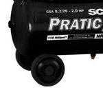Motocompressor Pratic Air Schulz Csa 8,2 25 Litros Mono 110v