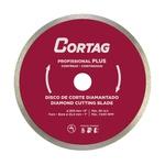 Disco Diamantado Cortag 200mm Furo 25,4 60570 Para Zapp 200 e 1250