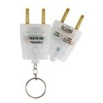 Identificador Chaveiro Voltagem Voltímetro Teste 110v / 220v