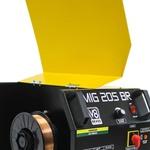 Máquina de Solda Mig 205A Mono com Tocha Euro V8 BRASIL112644