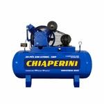 Compressor de ar alta pressão 20 pcm 200 litros Monofásico Chiaperini 20/200 Blue