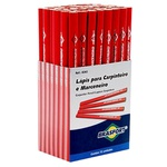 Jogo de Lápis para Carpinteiro com 72 Peças - BRASFORT-8262