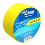 Fita de Demarcação PVC Amarela 48mm x 30m PLASTCOR