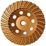 Rebolo Diamantado Turbo 115mm Mtx 729099 Com Rosca M14