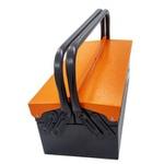 Caixa De Ferramentas Sanfonada 3 Gavetas Chapa Metal 50cm Presto