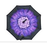 Guarda-chuva Invertido Abre ao Contrário Várias Estampas