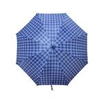 Guarda Chuva Xadrez Grande Tipo Portaria Azul