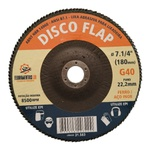 Disco de Lixa Flap 7 Pol. 180x22mm - LDI Ferramentas