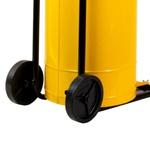 Coletor de Óleo HYDRONLUBZ de 50 Litros Amarelo com Carrinho 5295