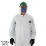 Macacão de Segurança Branco com Capuz (G) Duvek 2000